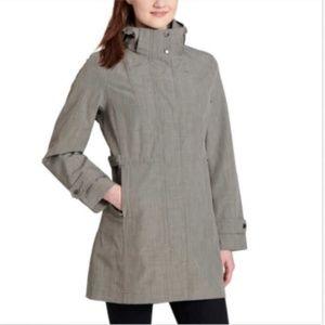 Kirkland Signature Ladies' Trench Rain Jacket Colo